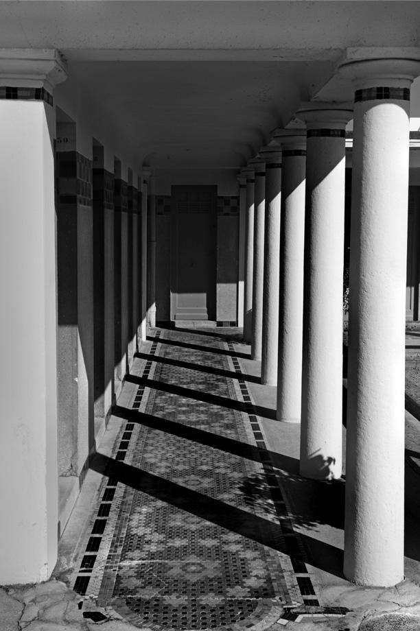 colonnes bains