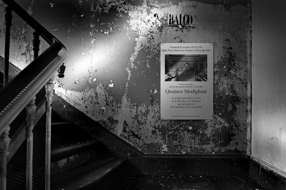 escalier theatre concert