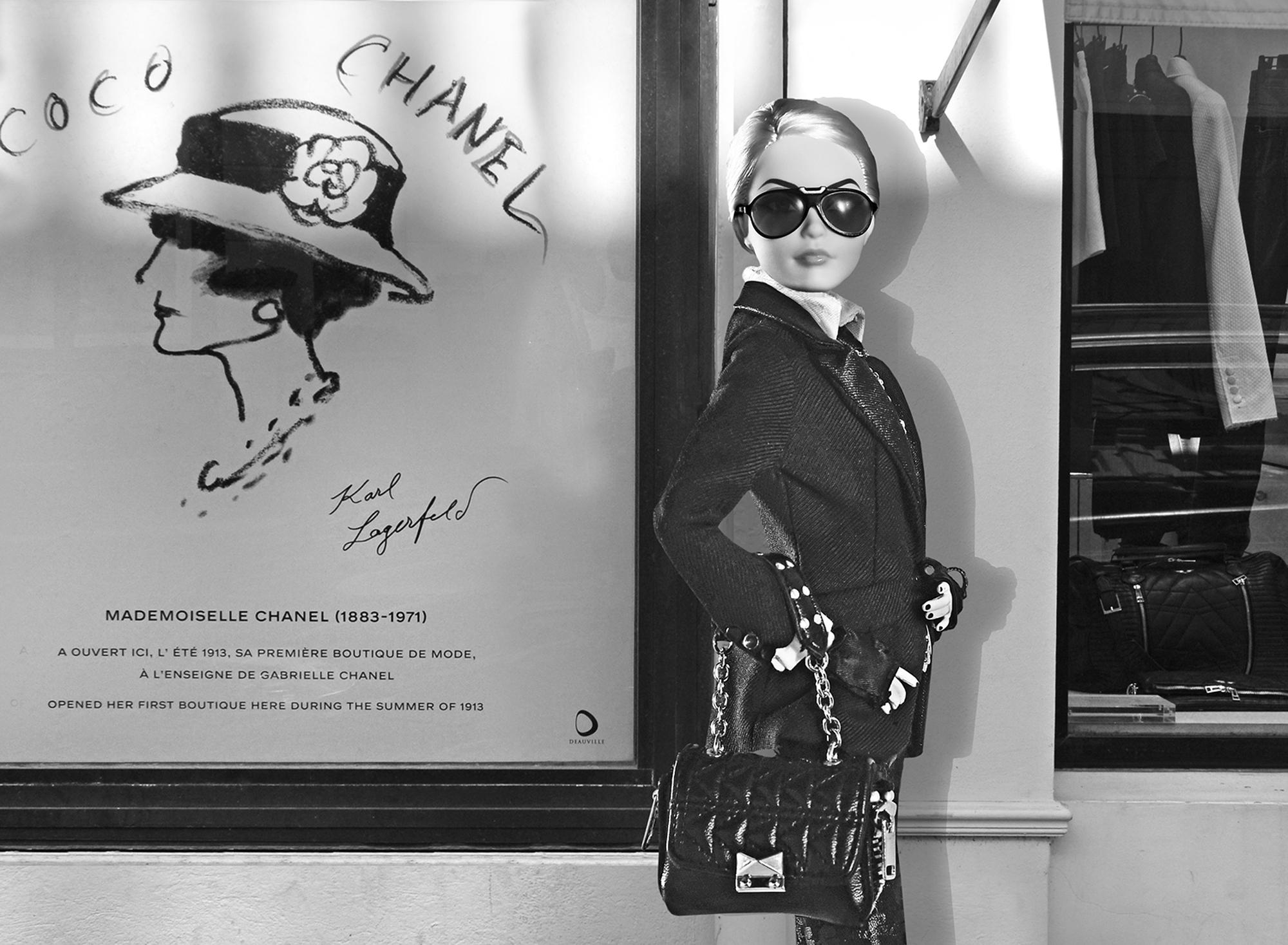 barbie Karl Lagerfeld Deauville-┬®michel Trehet